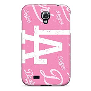 CristinaKlengenberg Samsung Galaxy S4 Durable Hard Phone Cases Customized Vivid Los Angeles Dodgers Pictures [fUs18465HIni]