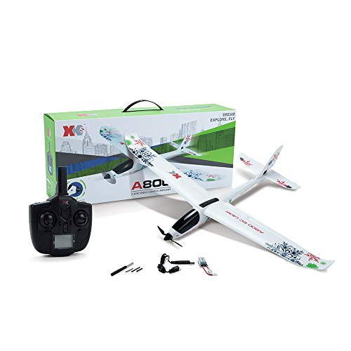 raillery WL XK-A800 EPO 5CH Glider Wingspan, Auvem Fixed Wing 780mm Remote Control Airplane Flying Toy Drone, 3D/6G switchable System by raillery (Image #3)