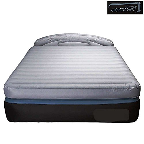 Review Of AeroBed Opti-comfort Queen Air Mattress with Headboard, Supports Adults up to 600 lbs. | 1...