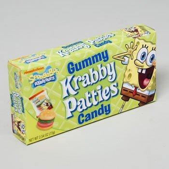 SpongeBob Krabby Patties Concession Box (Pack of 12) -