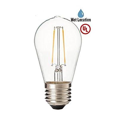 LED2020 LED S14 Filament Bulb