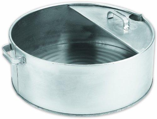 Lumax LX-1710 Silver 6 Gallon Galvanized Drain Pan