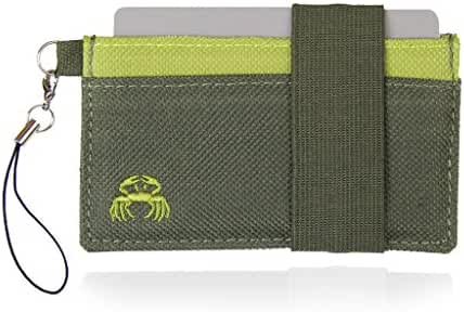 Crabby Wallet - Thin Minimalist Front Pocket Wallet - C3 Canvas Wallet