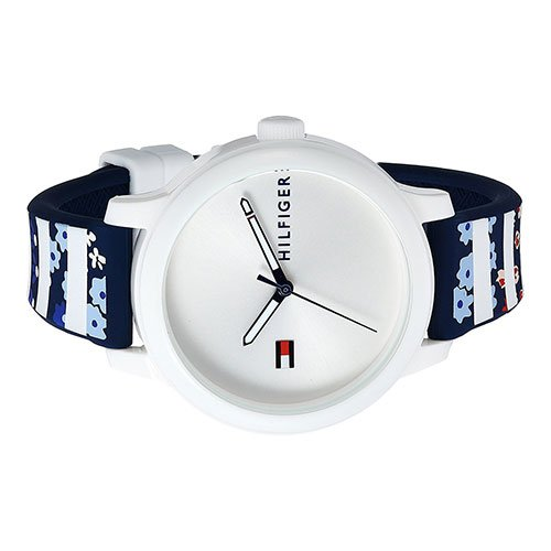 Tommy Hilfiger Women's 'EVERYDAY SPORT' Quartz Resin and Silicone Casual Watch, Color Blue (Model: 1781779)