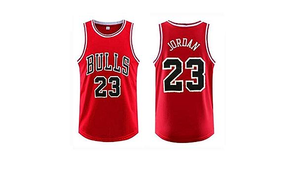 FSBYB para Hombre Camisetas # 23 Jordan Chicago Bulls Tops ...