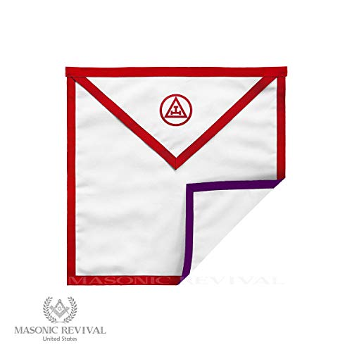 Masonic Revival - Reversible Royal Arch/Council Member Apron (Cotton) ()