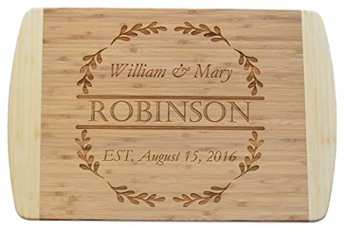 Board Goal Cutting - EXTRA LARGE - Personalized Custom Engraved Bamboo Wood Cutting Board - 19.25