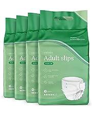 Amazon Basic Care Volwassen Slips, 4 verpakkingen van 10