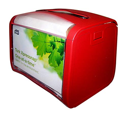 SCA Tork Xpressnap Signature Napkin Red Dispenser 623600
