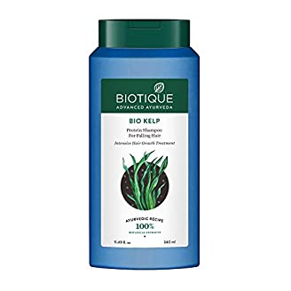 Biotique Bio Kelp Protein Shampoo For Falling Hair India 2020