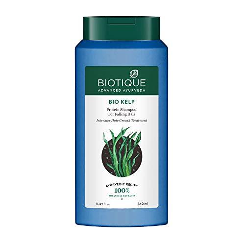 Biotique Bio Kelp Protein Shampoo for Falling Hair Intensive Hair Regrowth Treatment, 340ml