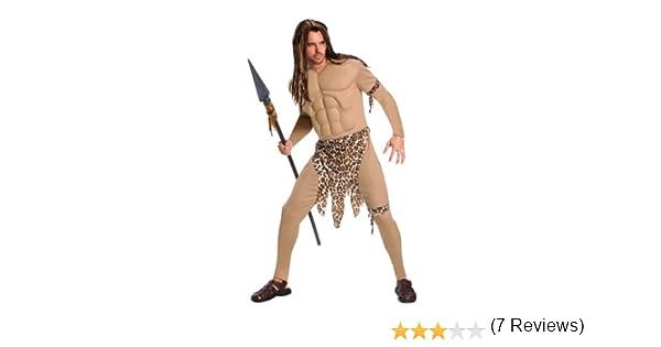 Disfraz de Tarzán deluxe para hombre: Amazon.es: Juguetes y juegos