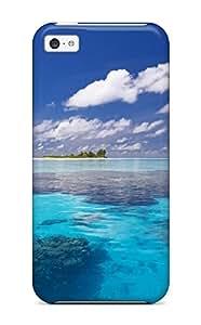 New Arrival Iphone 5c Case Sea Earth Island Nature Island Case Cover
