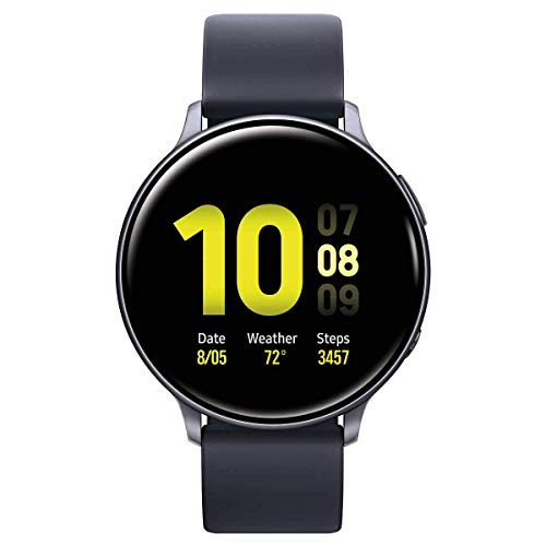 Samsung Galaxy Active 2 Smartwatch 40mm with Extra Charging Cable, Black – SM-R830NZKCXAR (Renewed)