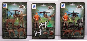 Hunting Playset For Kids, Includes Deer Hunter, Duck Hunter, and Turkey Hunter