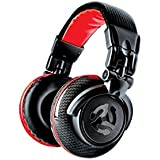 Numark Red Wave Carbon | 50mm Driver Professional Mixing Headphones with 1/8 Adapter, Cable, & Storage Case by Numark