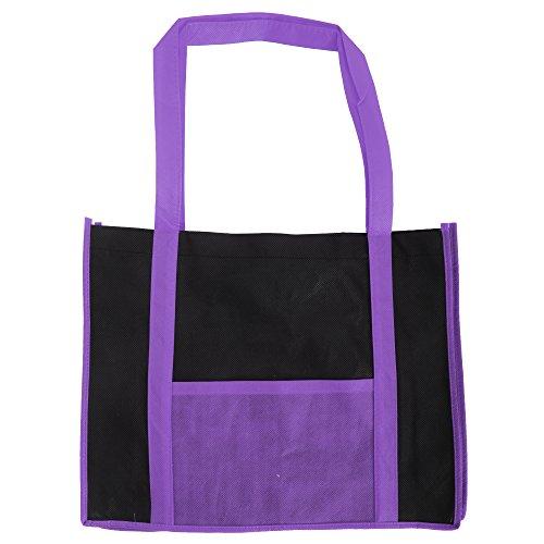 Dos Bolsa En Estilo Tonos Compra By La Jassz Para Rojo Asas Con negro Tote Largas Bags EnvzRqF8q