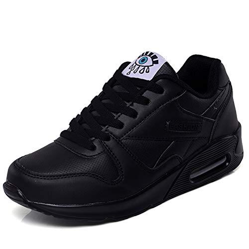 Vocnako スニーカー ウォーキングシューズ ランニングシューズ スポーツシューズ カジュアル レディース 靴 ジム用 運動靴 アウトドア レディース安全靴 エアクッション付き 通勤 通学 女性 用