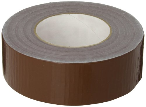 Nashua 2280 Polyethylene Coated Cloth Multi-Purpose Duct Tape, 55m Length x 48mm Width, Brown -