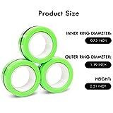 NSKER 3PCS Fidget Toy Fingers Magnetic Rings Ideal