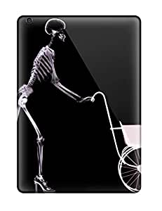 Excellent Design Skeleton Dark Abstract Dark Case Cover For Ipad Air