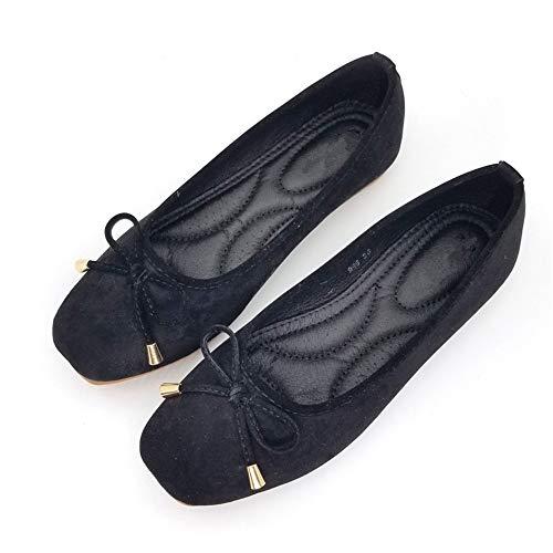 de Negras Planas EU 41 Mujeres nbsp;Solos Zapatos Manera 39 Las de Casual FLYRCX Zapatos Ballet la Antideslizantes Zapatillas UE Embarazadas de cómodas nbsp; nbsp; qgEnRwX5