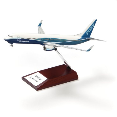 - 737-900 Snap-Together Model with Wood Base