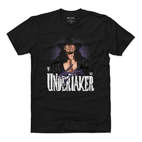 500 LEVEL Undertaker Shirt (Cotton, Small, Black) - WWE Men