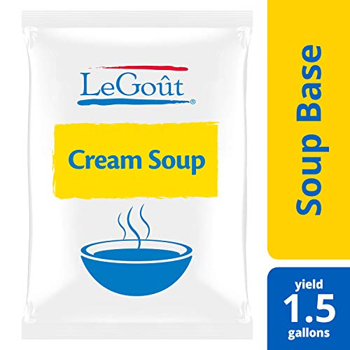 (LeGout Cream Soup Base Vegetarian, Gluten Free, No Artificial Flavors or Preservatives, No added MSG, 25.22 oz, Pack of)