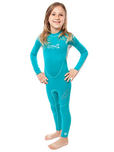 ler Full Wetsuit Youth 2 Turquoise/Lunar/Silver (4629G) ()