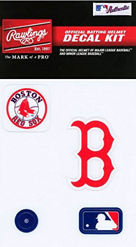 Boston Red Sox Sticker (Rawlings Sporting Goods MLBDC Decal Kit, Boston Red Sox)