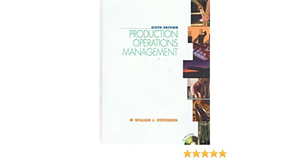 Productionoperations management william j stevenson productionoperations management william j stevenson 9780073661124 amazon books fandeluxe Image collections