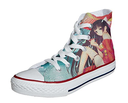 Converse All Star Customized - Zapatos Personalizados (Producto Artesano) Japan Fantasy