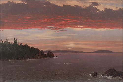24x36 Poster; Frederic Edwin Church - Schoodic Peninsula From Mount Desert At Sunrise -
