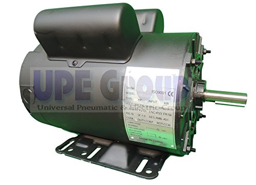 - 5HP 1-PHASE 16 AMP Air Compressor Electric Motor 56 frame 5/8