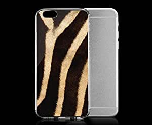 Light weight with strong PC plastic case for iphone 5c Patterns Animal Prints Zebra Tan