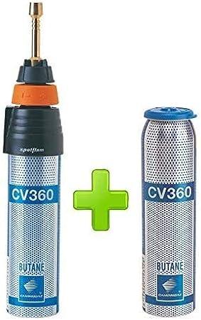 Soldador Spotlon Campingaz + 1 bombona de gas CV360 incluida ...