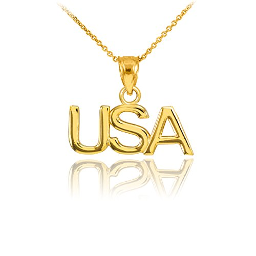 10 ct 471/1000 Or USA-Pendentif Collier