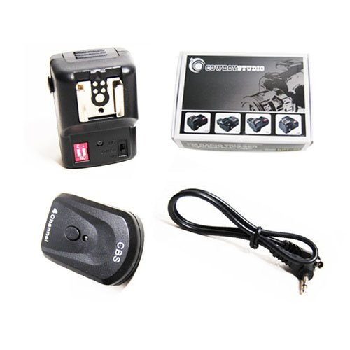 CowboyStudio NPT-04 4 Channel Wireless Hot Shoe Flash Trigger Receiver (Trigger Radio Flash Wireless)