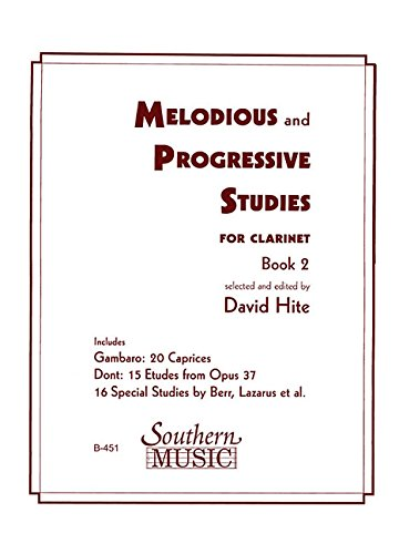 Melodious and Progressive Studies for Clarinet, Book ()