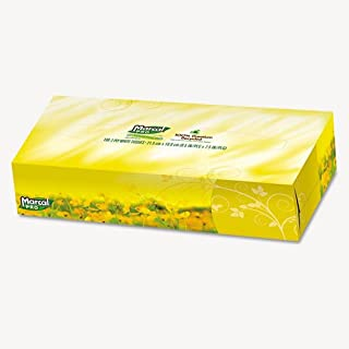 product image for 100% Premium Recycled Facial Tissue, 100/Box, 30 Boxes/Carton
