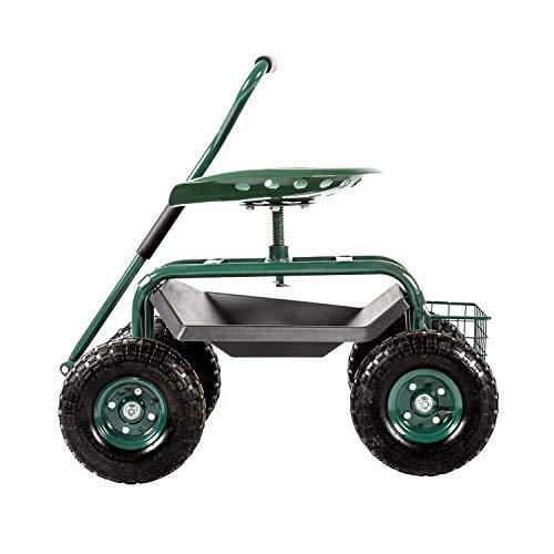 Kinsuite Garden Cart Rolling
