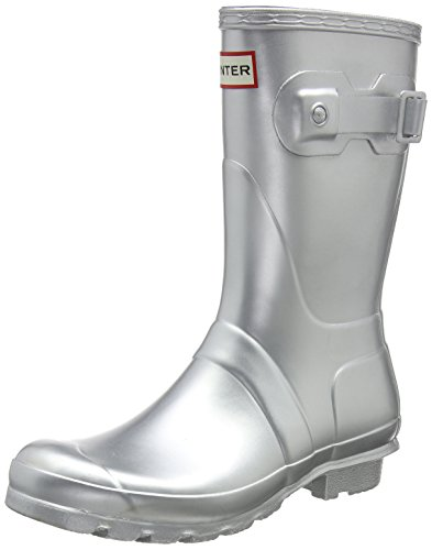 Hunter Women's Original Short Snow Boot Silver buy cheap largest supplier TMwFRd