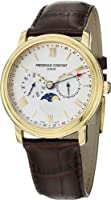 Frederique Constant Business Timer Silver Dial Rose Gold-plated Mens Watch FC-270SW4P5 from Frederique Constant