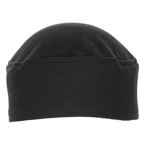 Chef Works Unisex Total Vent Chef Beanie, Black One Size
