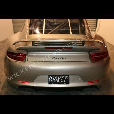 2012 Porsche 991 Turbo Rear Bumper with New 991 LED Taillights for 997 Turbo & Carrera