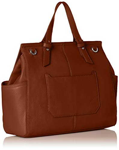 main à Liebeskind sac 8752 Marron Satchell Bourbon Berlin Worldt q1wxxC7v