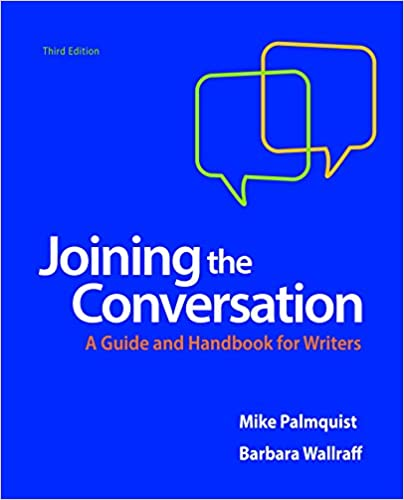 Amazon joining the conversation a guide and handbook for joining the conversation a guide and handbook for writers third edition fandeluxe Image collections