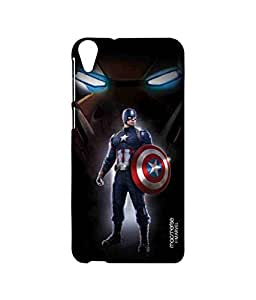 Watchful Captain America - Sublime Case for HTC Desire 820Q