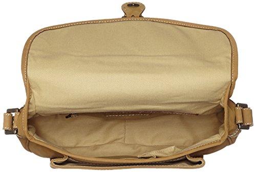 Timberland Tb0m2622, Borsa a Tracolla Donna, 9x24x31 cm (W x H x L) Beige (Tan)